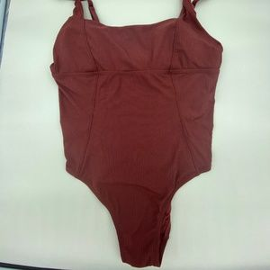 NWT Andie Havana Ribbed One Piece Swimsuit 5XL